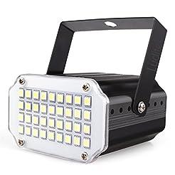 Mini Halloween White LED Strobe Light, S...