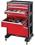 KETER 226340 TOOL CHEST SET Werkzeugwagen Werkstattwagen Schubladenschrank mit Rädern