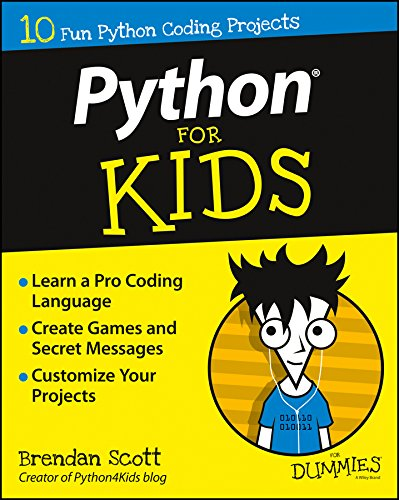 Book cover of Python For Kids For Dummies by Brendan Scott