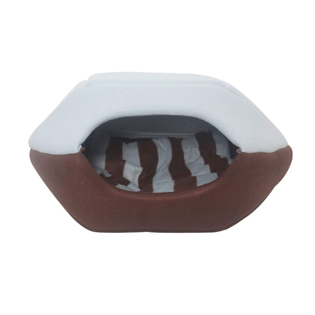 C Large C Large Dog House,Autumn Winter Warm Removable Portable Comfortable Kennel Small Pet Kennel Cat Nest Cat Mat (color   C, Size   L)
