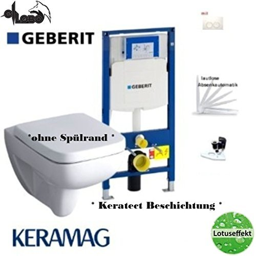 Geberit Duofix Frame System Keramag Renova No 1 Plan Washdown