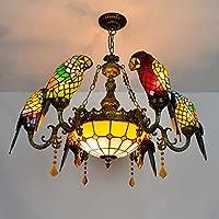 Techo de Cristal de Tiffany Estilo de Tiffany de color loro ...