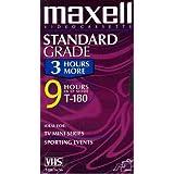 Maxell GXS T180 VHS Cassette Standard Grade T180 213027