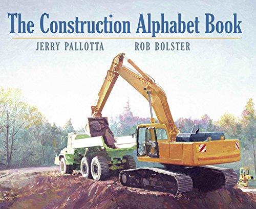 - The Construction Alphabet Book (Jerry Pallotta's Alphabet Books)