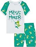 Boys Alligator Pajamas Cartoon Sleepwear for Children 2 Piece Shorts Set PJS Size 2T