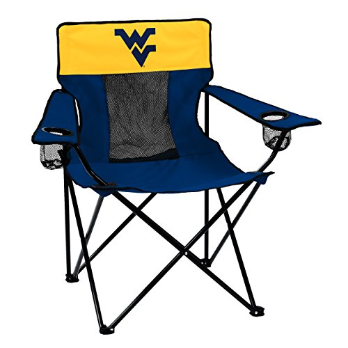 (Logo Brands Collegiate West Virginia Mountaineers Elite Chair)