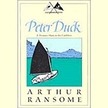Peter Duck: A Treasure Hunt in the Caribbees (Swallows and Amazons Series) Audiobook by Arthur Ransome Narrated by Alison Larkin