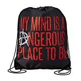 Dean Ambrose My Mind is a Dangerous Place WWE Drawstring Bag