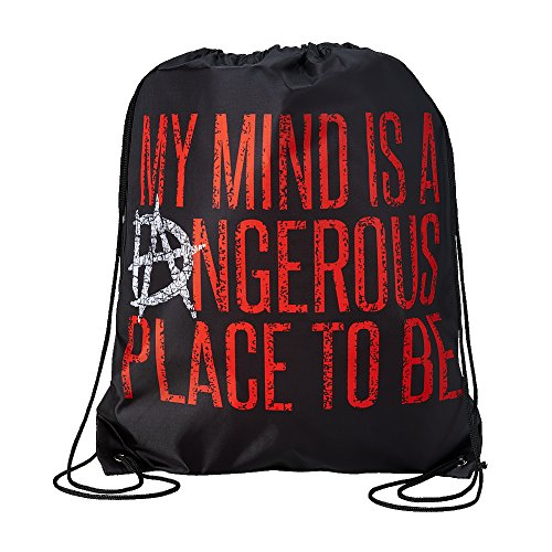 Dean Ambrose My Mind is a Dangerous Place WWE Drawstring Bag by WWE