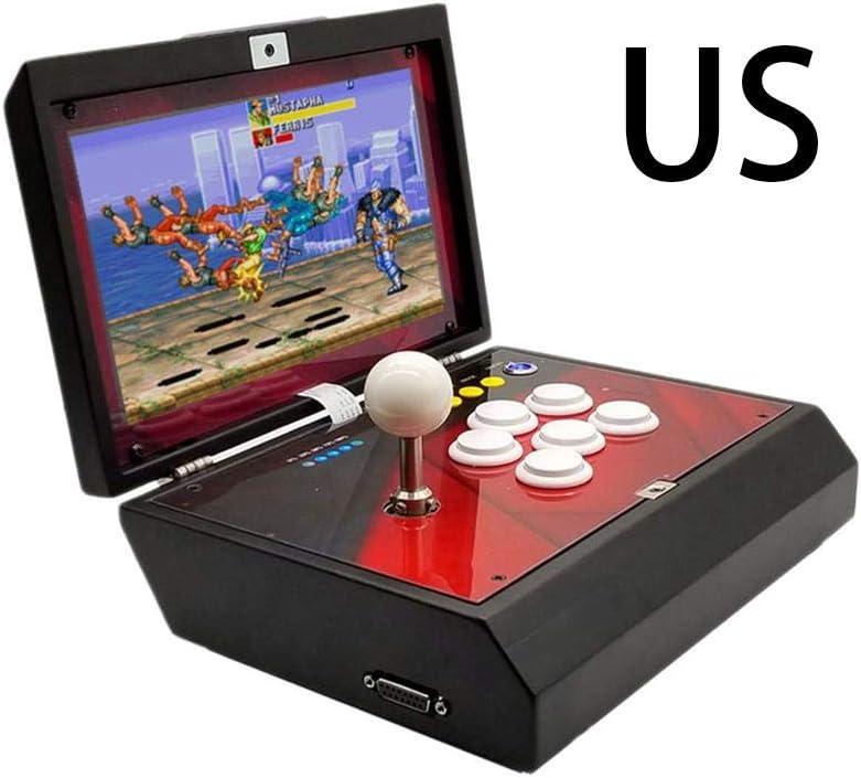 Reputedc Caja de Juegos de Arcade Casa 6s Plegable Portátil AU ...