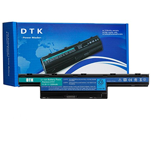 DTK AS10D31 AS10D51 Laptop Battery for ACER Aspire 4250 4333 4551 4741 4743 5250 5253 5336 5552 5733 5741 5742 5750 5755 TravelMate 5735 5740 5742 Gateway NV50A NV53A NV55C -