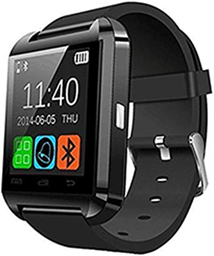 Amazon.com : Watch Fashion Touch Screen Smartwatch U8 ...