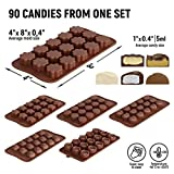 Silicone Candy Molds + 5 Recipes eBook - Easy to