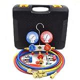 Nikauto 1Set Auto Air Conditioner Manifold Gauge kit R12 R22 R134a 404 502