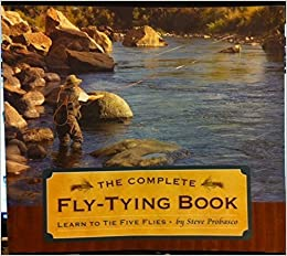 The Complete Fly-Tying Kit: Includes a How-To Book & Everything You Need to Tie Five Flies by Steve Probosco (2009-06-17)