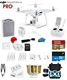 #7: DJI Phantom 4 PRO Quadcopter Drone with 1-inch 20MP 4K Camera KIT + SanDisk Extreme 32GB Micro SDXC Card + Card Reader 3.0 + Snap on Prop Guards + Charging Hub + Range Extender + Harness + HardCase