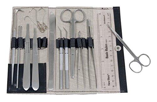 Frey Scientific 15 Piece Comprehensive Dissection Kit