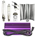 Apollo Horticulture Purple Reign 1000W Watt PR1050SGW19 Digital Dimmable HPS MH Grow Light Set Kit for Plant Growing – Gull Wing Review