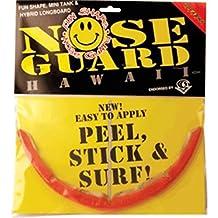 Surfco Hawaii Fun Shape, Mini Tank & Hybrid Longboard Red Tint Nose Guard Kit