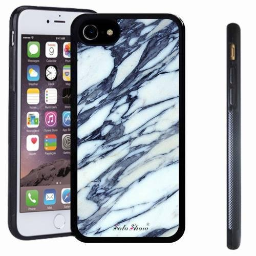 iphone 7 case, SoloShow(R) Slim Shockproof TPU Soft Case Rubber Silicone for Apple iphone 7 [white 8]]()