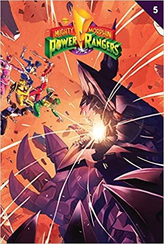 MIGHTY MORPHIN POWER RANGERS #2 STANDARD COVER