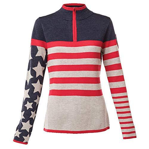 e52d13f96fd Krimson Klover Women s Stars   Stripes Sweaters (Indigo ...