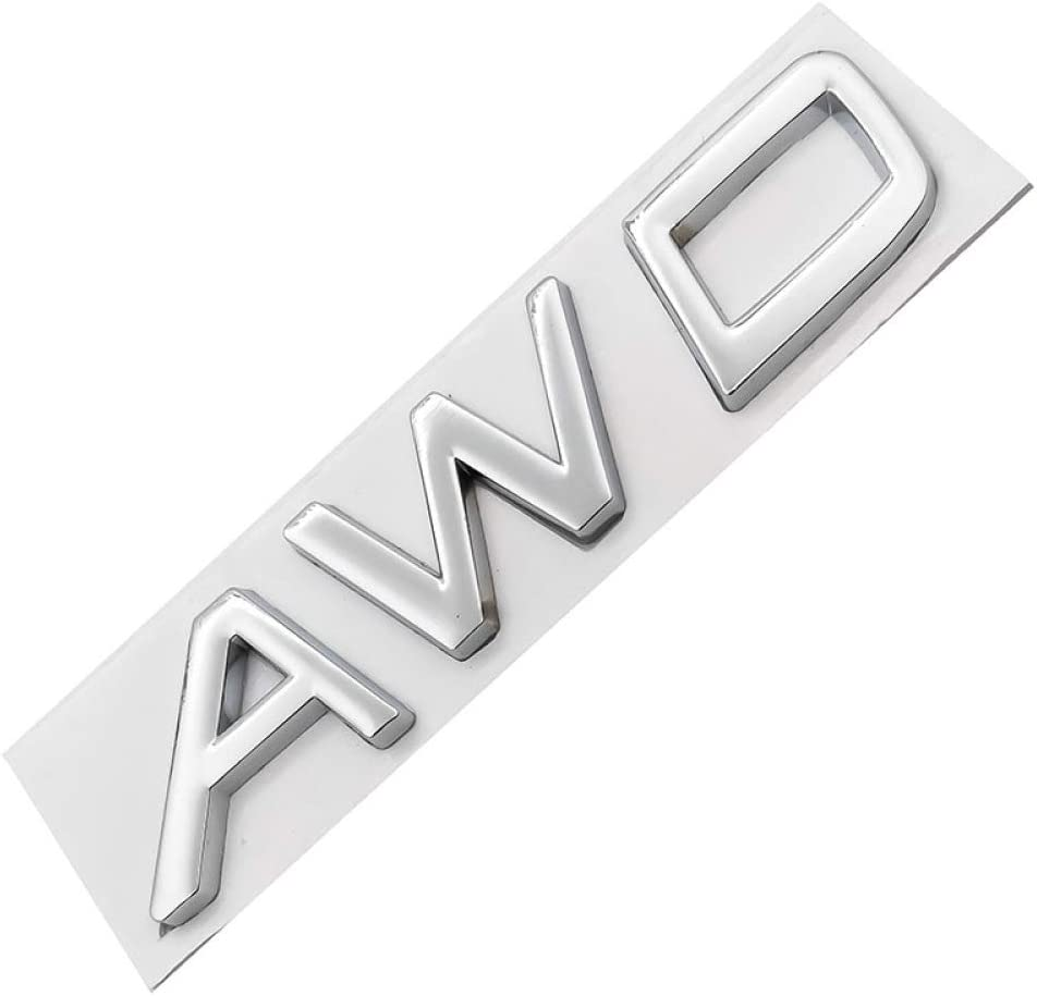 3D Metall T5 T6 AWD Logo Embleme Abzeichen Auto Aufkleber Brief Aufkleber Auto Styling Gnnlor F/ür Volvo xc60 xc90 s60 s80 s60l v40 v60