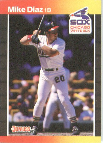 1989 Donruss Baseball Card #655 Mike Diaz Mint