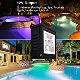 KOLLNIUN 105W Pool Light Transformer 120 to 12v Spa