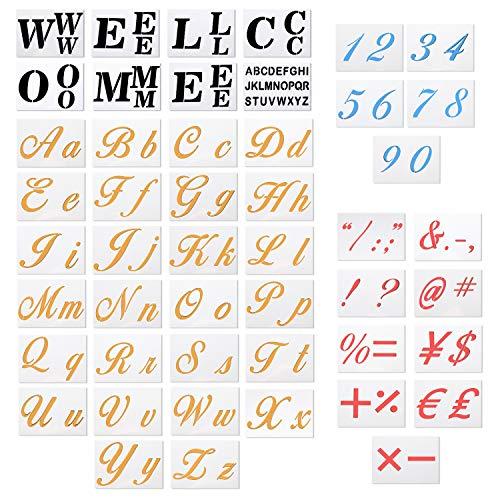48 Pack Large Size Alphabet Letter Templates