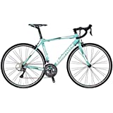 Bianchi (ビアンキ) ロードバイク VIA NIRONE 7 PRO CLARIS (ビア ニローネ 7 プロ クラリス ) 2018モデル(チェレステ) 53サイズ