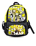 Boys Girls Students Anime Canvas Backpacks College Shoulders Bag (Style 4)