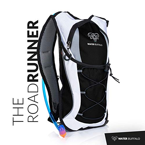 Water Buffalo Road Runner Hydration Backpack – 2L Hydration Pack   BPA Free  Reservoir – Light 54eb5bed0ca66