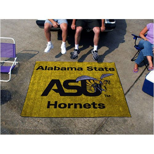 Tailgater Mat w Official Alabama State University Colors & Logo by Fanmats
