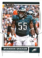 2017 Score #251 Brandon Graham Philadelphia Eagles Football Card
