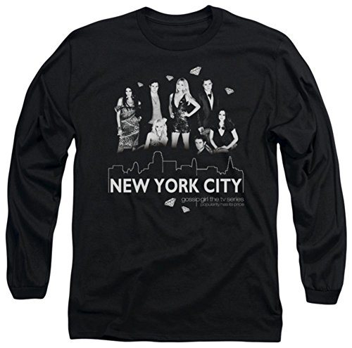 Long Sleeve: Gossip Girl - NYC Longsleeve Shirt Size M (Best Gossip Girl Music)