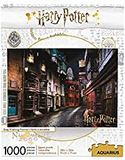 AQUARIUS Harry Potter Puzzle Diagon Alley (1000 Piece Jigsaw Puzzle) - Officially Licensed Harry Potter Merchandise & Collectibles - Glare Free - Precision Fit - Virtually No Puzzle Dust - 20x28in