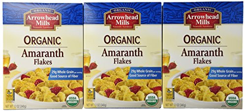- Arrowhead Mills Flakes Amaranth Org - Pack of 3 Boxes