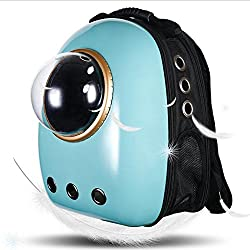 Dofover Dog Cat Pet Bubble Carrier Backpack Airline Approved for Travel Hiking Carrier for Dogs and Cats
