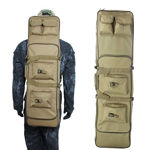 Tactical Rifle Case Waterproof Gun Storage Backpack Padded Shoulder Strap Pistol Cases Fishing Rode Backpack 48