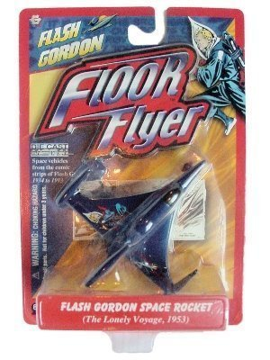 Flash Gordon Rocket (Flash Gordon Floor Flyer Space Rocket The Lonely Voyage)
