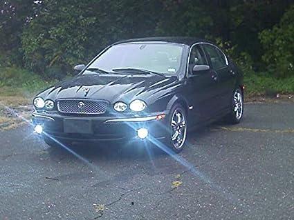 Amazon.com: 2004-2009 Jaguar X-Type Xenon Halogen Fog Lamps ... on