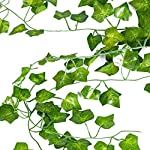 Artificial-Ivy-Vine-Garland-Leaf-12-Pack-82-inch-Each-Christmas-Decoration-Fake-Greenery-Hanging-Plants-Wedding-Garden-Outdoor-Wall-Decoration-LUCKYLIFE
