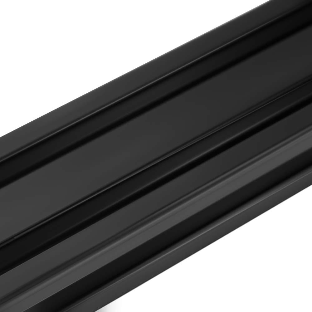 150mm 2 Pcs 2040 CNC 3D Printer Parts European Standard Anodized Linear Rail Aluminum Profile Extrusion for DIY 3D Printer Black