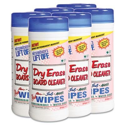 Motsenbockers Lift-Off Dry Erase Board Cleaner Wipes by MOTSENBOCKER LIFT-OFF