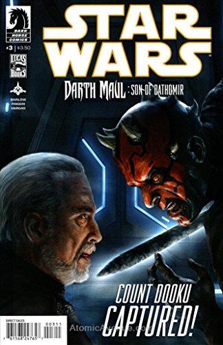 Star Wars: Darth Maul-Son of Dathomir #3 VF/NM ; Dark Horse comic book (Star Wars Darth Maul Son Of Dathomir 3)