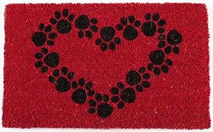 Door Mats   U0026quot;Puppy Loveu0026quot; Coir Doormat   18u0026quot; X 30u0026quot;