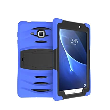 outlet store 8f16e 9c677 Galaxy Tab A 7.0 Case, Lanstyle Hybrid Rugged Armor Back Cover Case with  Kickstand for Samsung Galaxy Tab A 7.0 (SM-T280 / SM-T285) (DarkBlue)