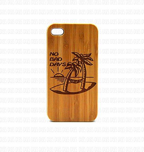 Krezy Case Real Wood iPhone 6 Case, No bad days iPhone 6 Case, eyes iPhone 6 Case, Wood iPhone Case,