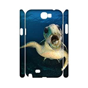 Sea Turtle Personalized 3D Cover Case for Samsung Galaxy Note 2 N7100,customized phone case ygtg565612